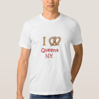 Eu amo a camiseta do Queens NY