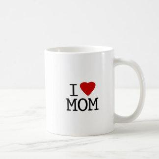 Eu amo a caneca da mamã