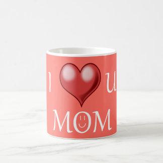 Eu amo a caneca de café da mamã de u