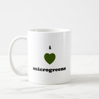 Eu amo a caneca de Microgreens