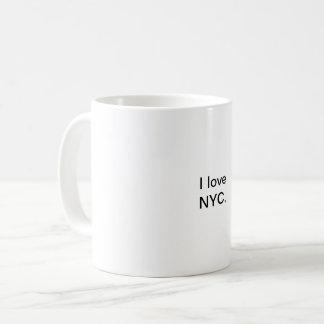 Eu amo a caneca de NYC