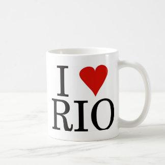 EU AMO a caneca de RIO