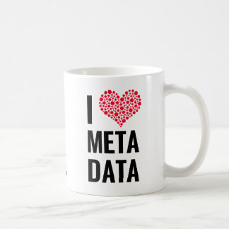 Eu amo a caneca dos Metadata