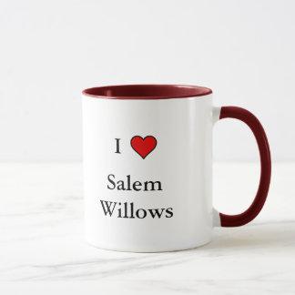 Eu amo a caneca dos salgueiros de Salem