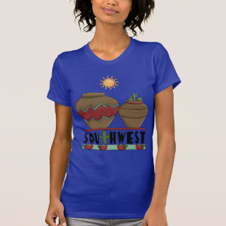 Eu amo a cerâmica americana do sudoeste camisetas