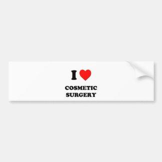 Eu amo a cirurgia estética adesivo para carro