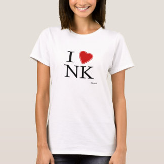 Eu amo a Coreia do Norte Camiseta