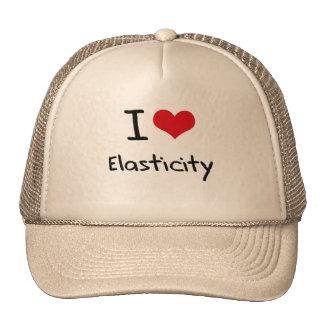 Eu amo a elasticidade boné
