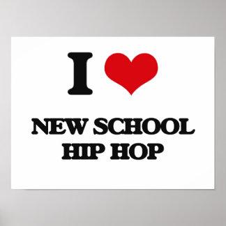Eu amo a ESCOLA NOVA HIP HOP Poster