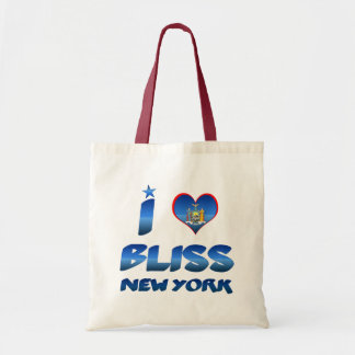 Eu amo a felicidade New York Bolsa Para Compras