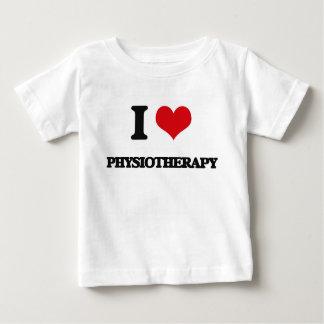 Eu amo a fisioterapia t-shirt