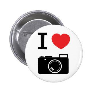 Eu amo a fotografia pins