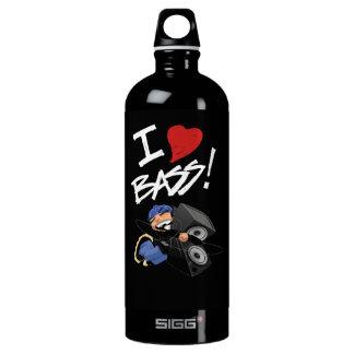Eu amo a garrafa baixa