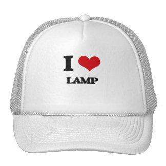Eu amo a lâmpada boné