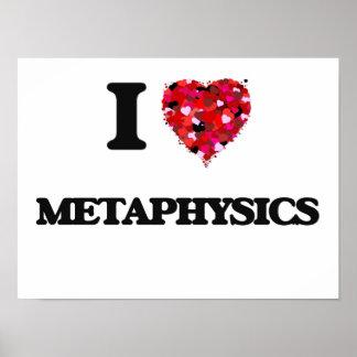Eu amo a metafísica poster