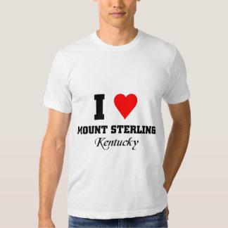Eu amo a montagem Sterling, kentucky Camiseta