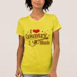 Eu amo a música country tshirt