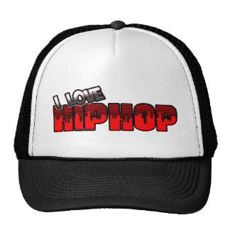 Eu amo a música de HIP HOP Boné