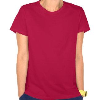 EU AMO a parte superior do círculo de Bella Flowy T-shirt