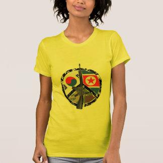 Eu amo a paz camiseta