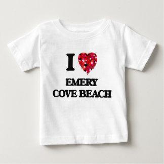 Eu amo a praia Maine da angra do esmeril T-shirts