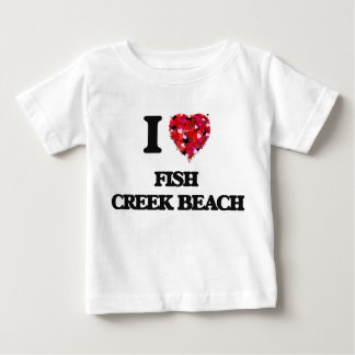 Eu amo a praia Wisconsin da angra dos peixes Tshirts