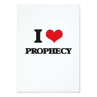 Eu amo a profecia convite personalizado