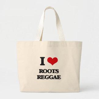 Eu amo a REGGAE das RAIZES Bolsa Para Compra