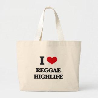 Eu amo a REGGAE HIGHLIFE Bolsa De Lona