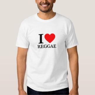 Eu amo a reggae tshirts