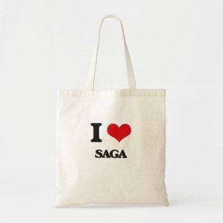 Eu amo a saga bolsa para compras