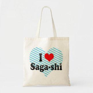 Eu amo a Saga-shi Japão Bolsa Para Compras