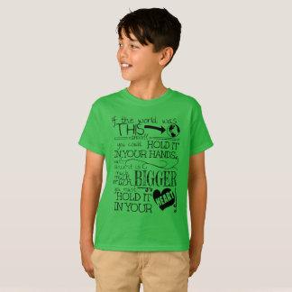 Eu amo a terra camiseta