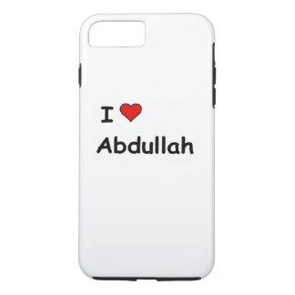 Eu amo Abdullah Capa iPhone 7 Plus