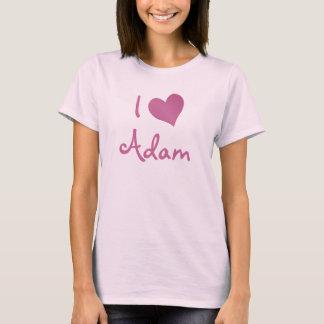 Eu amo Adam Camiseta
