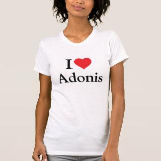 Eu amo Adonis Camiseta