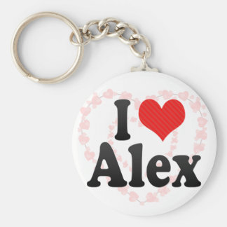 Eu amo Alex Chaveiro