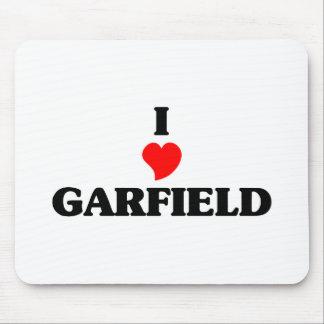 Eu amo alturas de Garfield Mouse Pad