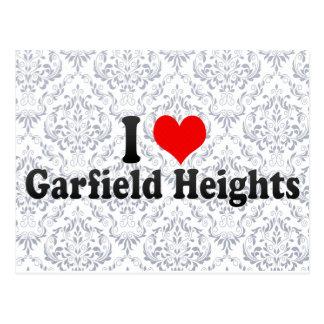 Eu amo alturas de Garfield, os Estados Unidos Cartão Postal