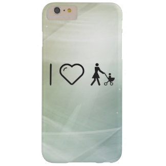 Eu amo amores maternais capa barely there para iPhone 6 plus