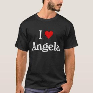 Eu amo Angela Camiseta
