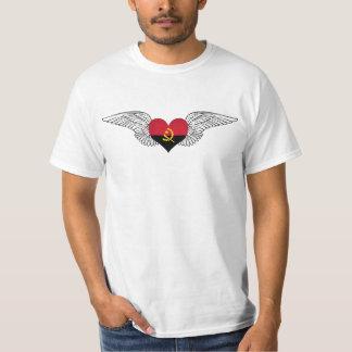 Eu amo Angola - asas Tshirt