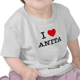 Eu amo Anita T-shirts