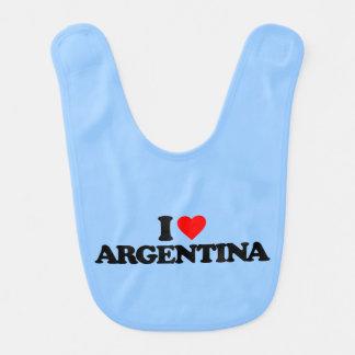 EU AMO ARGENTINA BABADOR INFANTIL