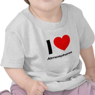 eu amo atmosferas tshirts