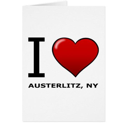 EU AMO AUSTERLITZ, NY CARTÕES