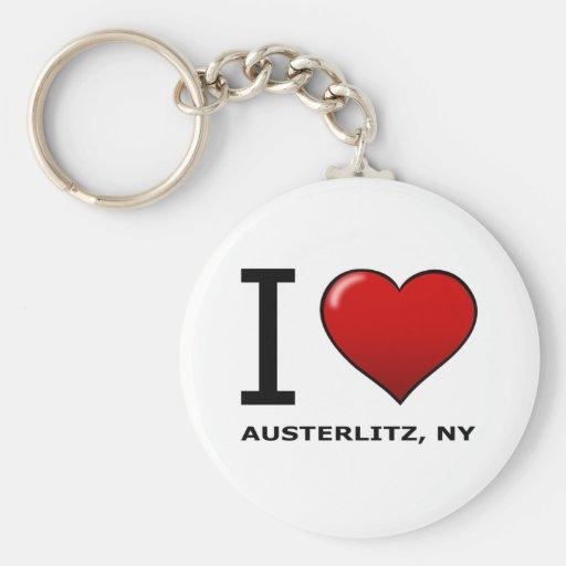 EU AMO AUSTERLITZ, NY CHAVEIROS