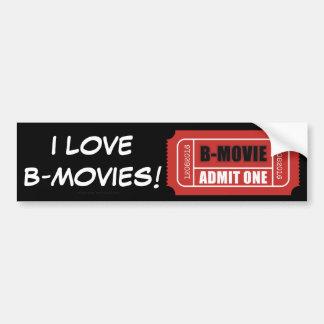 Eu amo B-Filmes! Adesivo Para Carro