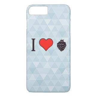 Eu amo bagas selvagens capa iPhone 7 plus