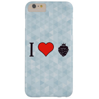 Eu amo bagas selvagens capas iPhone 6 plus barely there